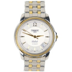 "Tissot ""Ballade"" Exhibition Back Two-Tone Stainless Steel Automatic Wristwatch"