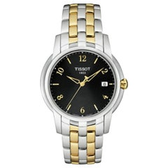 Tissot Ballade III Steel Black Dial Quartz Men's Watch T97.2.481.52