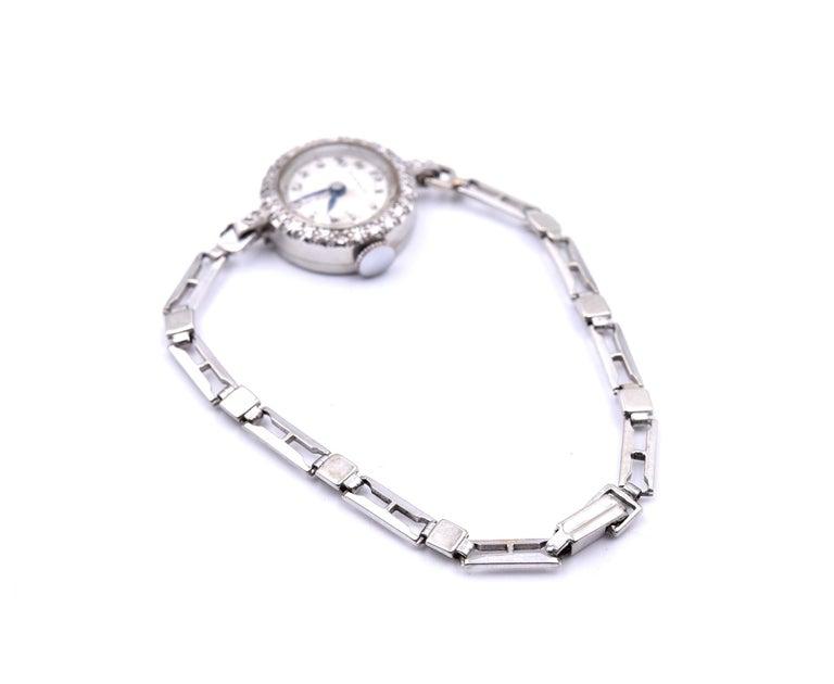 Tissot Ladies Vintage Platinum 14 Karat Gold Bracelet