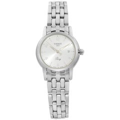 Tissot Ring Ballade III Steel Silver Dial Quartz Ladies Watch T97.1.181.32