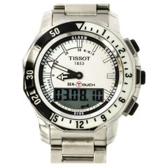 Tissot SEA-Touch T026420A, White Dial, Certified and Warranty