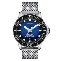 Tissot Seastar 1000 Powermatic 80 Blue Dial Men's Watch T1204071104102