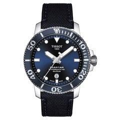 Tissot SeaStar 1000 PowerMatic 80 Silicium Men's Watch T1204071704101