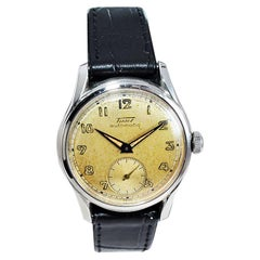 Tissot Stainless Steel Automatic with Original Dial, circa 1940s