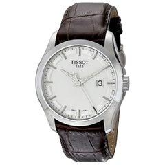Tissot T-Classic Couturier Silver Dial Quartz Men's Watch T035.410.16.031.00