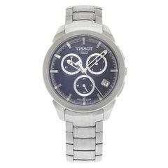 Tissot Titanium Chronograph Blue Dial Date Quartz Men's Watch T069.417.44.041.00