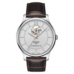 Tissot Tradition PowerMatic 80 Open Heart Watch T0639071603800