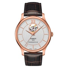 Tissot Tradition PowerMatic 80 Open Heart Watch T0639073603800