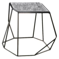 Titanium Stone W Side Table