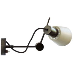 Tito Agnoli adjustable wall lamp for Oluce, Italy, 1950s