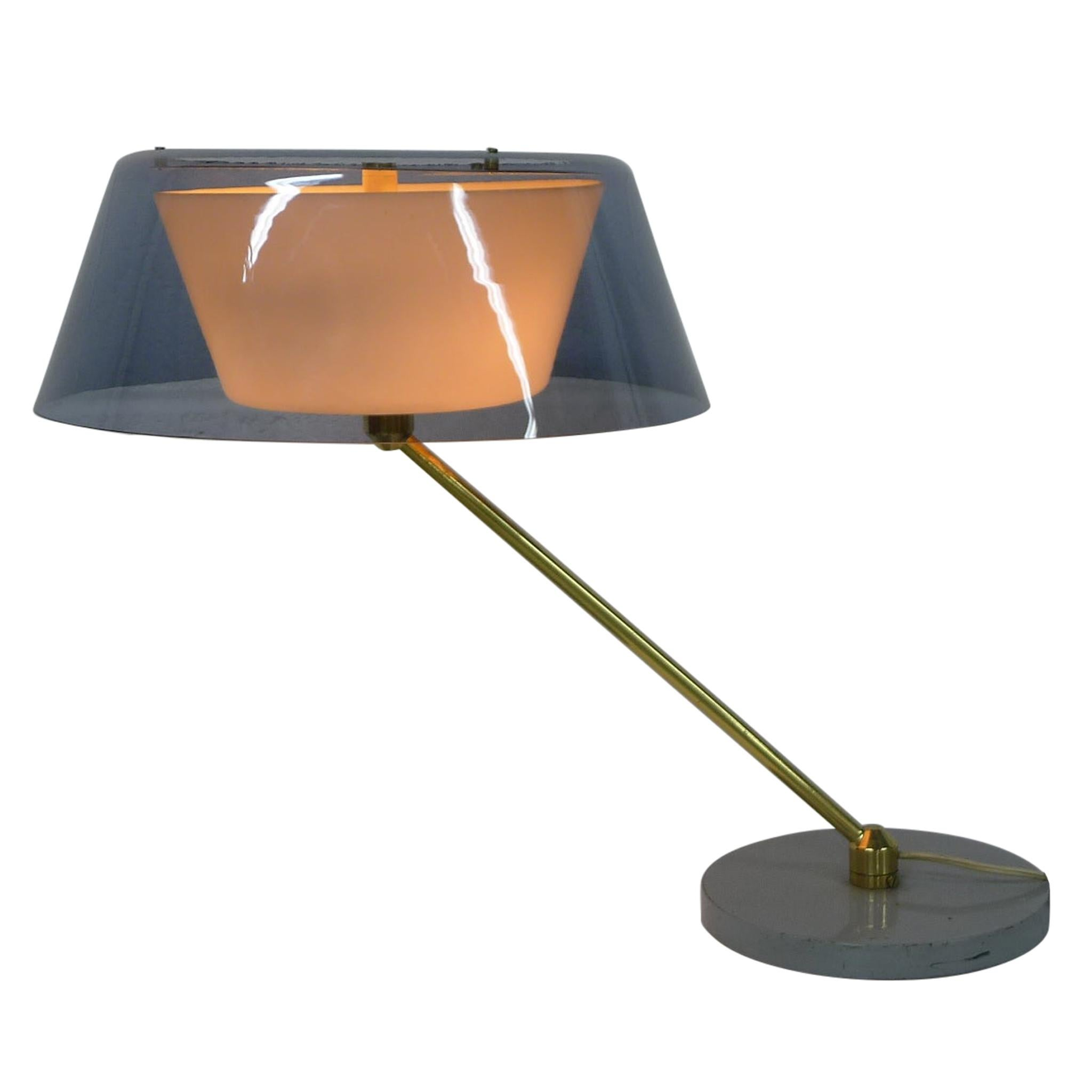 Tito Agnoli, Desk Lamp, Model No. 253 for O'Luce Italy, circa 1960