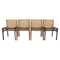 Tito Agnoli Dining Room Chairs, Italy, 1960s (8)