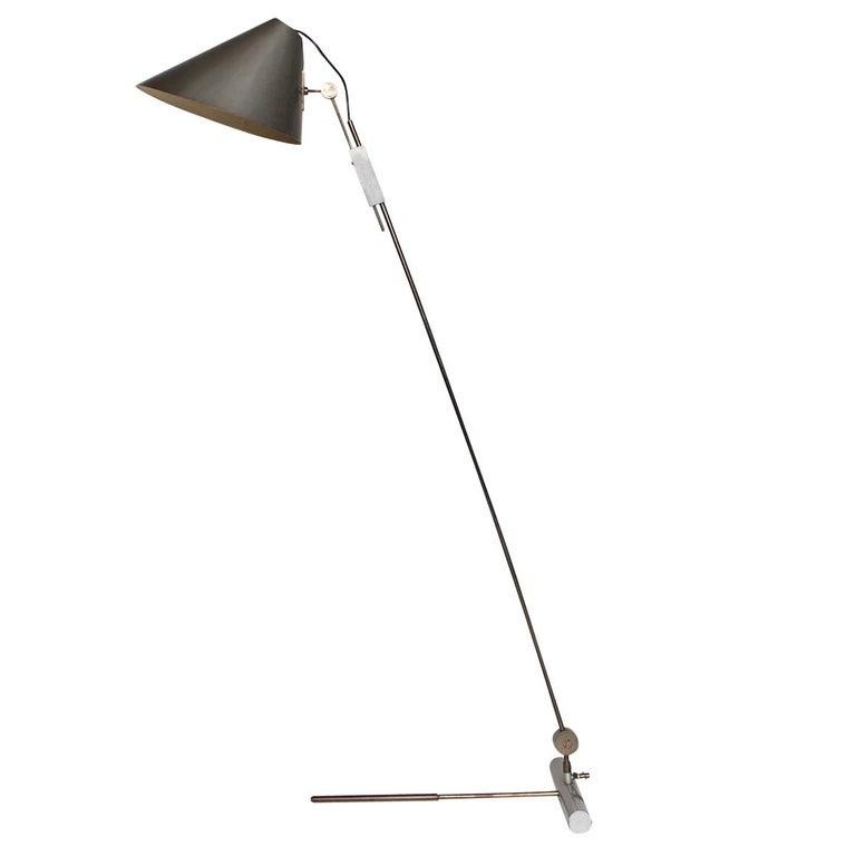 Tito Agnoli Floor Lamp Model '363' for O-Luce, Italy, Designed in 1954 For Sale