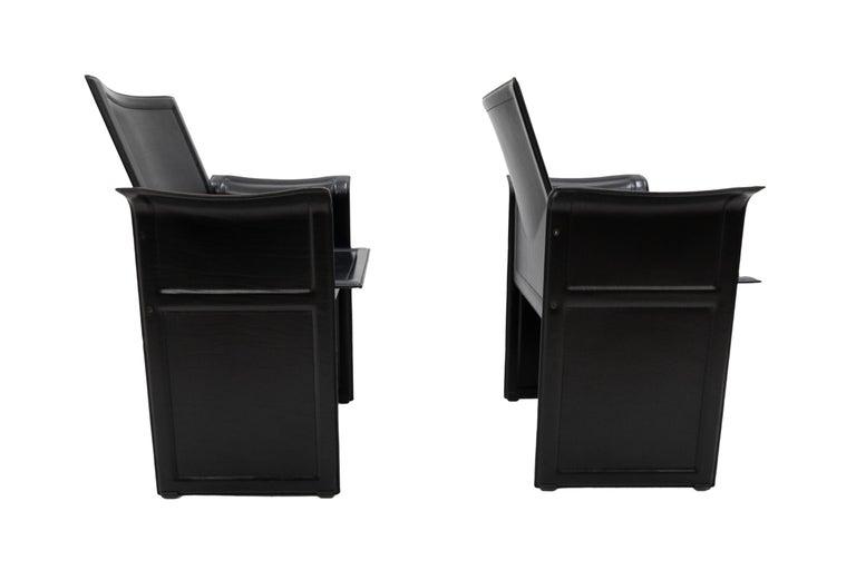 Tito Agnoli for Matteo Grassi Chairs For Sale 3