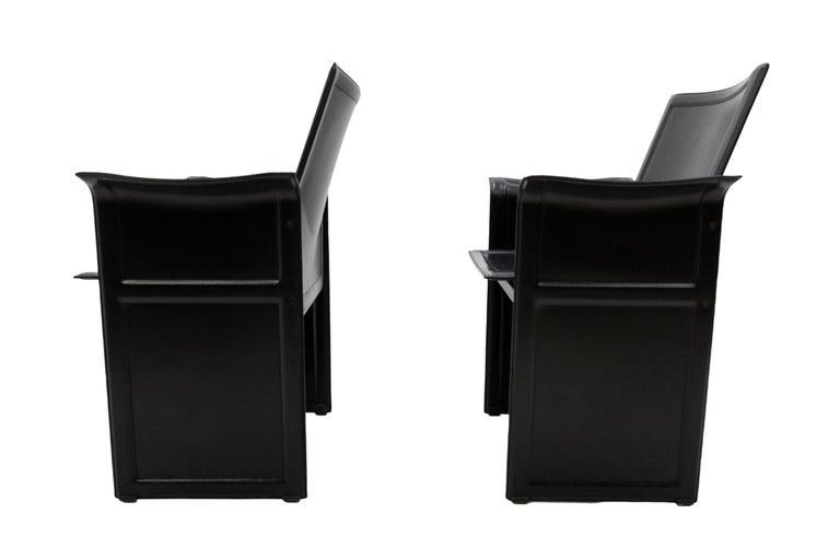 Tito Agnoli for Matteo Grassi Chairs For Sale 4