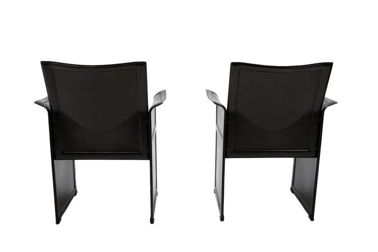 Modern Tito Agnoli for Matteo Grassi Chairs For Sale