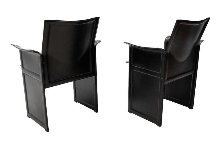 Italian Tito Agnoli for Matteo Grassi Chairs For Sale