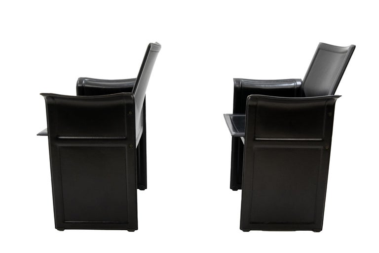 Tito Agnoli for Matteo Grassi Chairs In Good Condition For Sale In Den Haag, NL