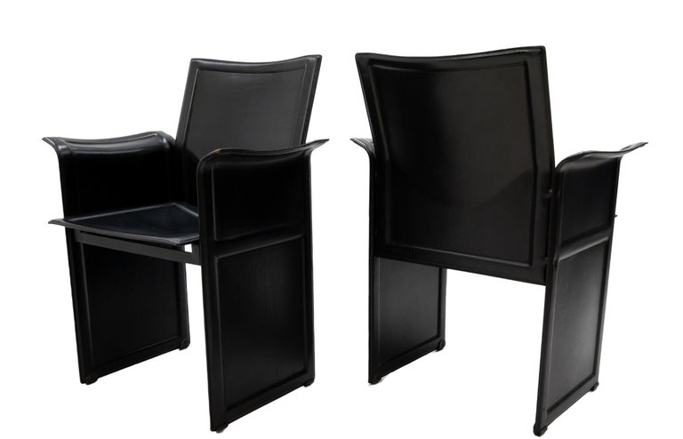 Tito Agnoli for Matteo Grassi Chairs For Sale 1