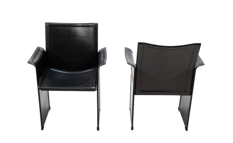 Tito Agnoli for Matteo Grassi Chairs For Sale 2
