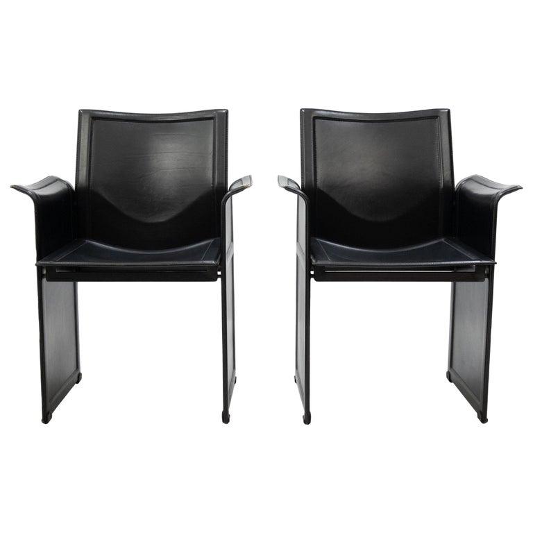 Tito Agnoli for Matteo Grassi Chairs For Sale