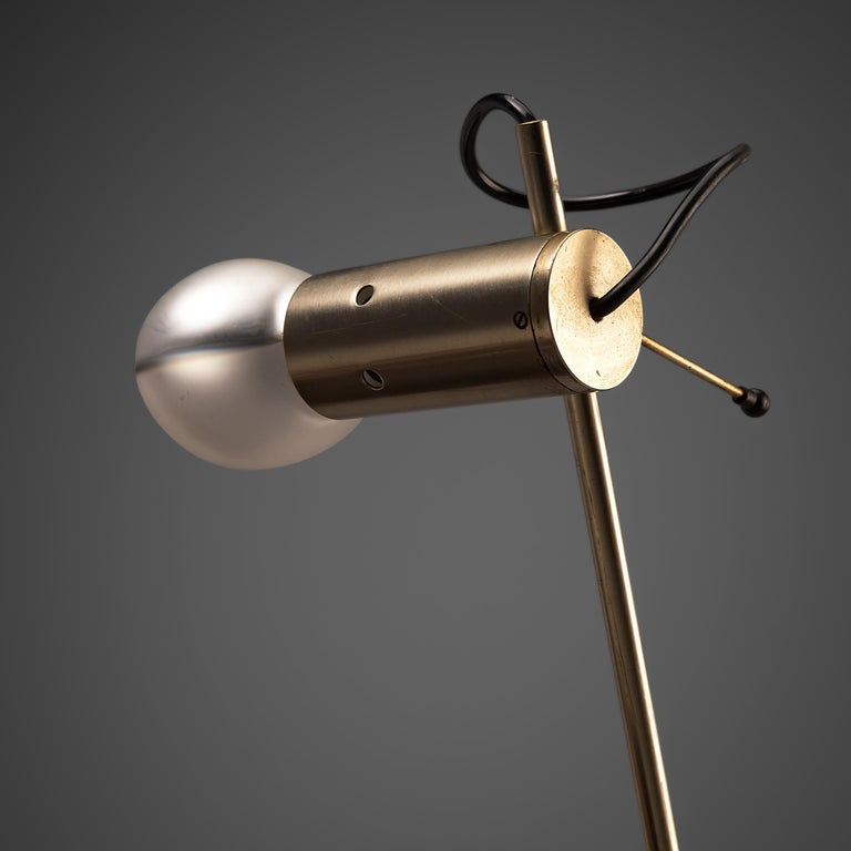 Mid-Century Modern Tito Agnoli for O-Luce 'Cornalux' Desk Light For Sale