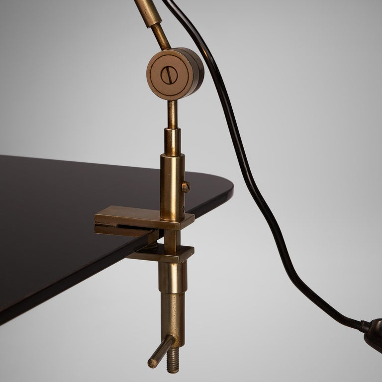 Mid-20th Century Tito Agnoli for O-Luce 'Cornalux' Desk Light For Sale