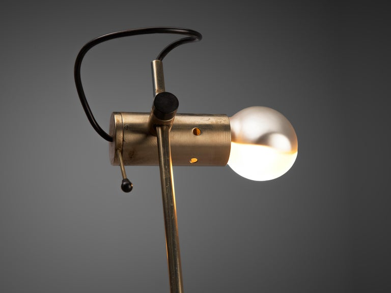 Metal Tito Agnoli for O-Luce 'Cornalux' Desk Light For Sale