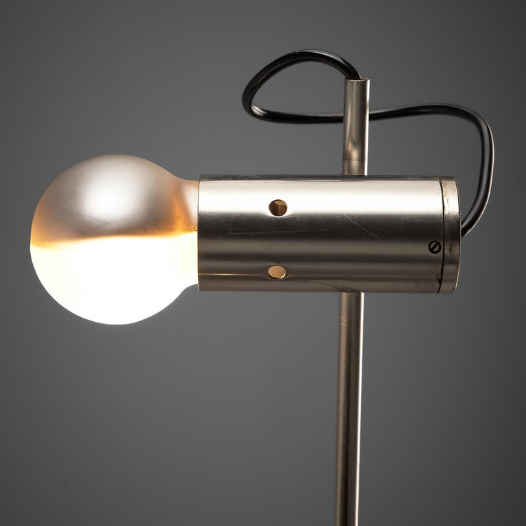 Mid-Century Modern Tito Agnoli for O-Luce 'Cornalux' Desk Lights For Sale