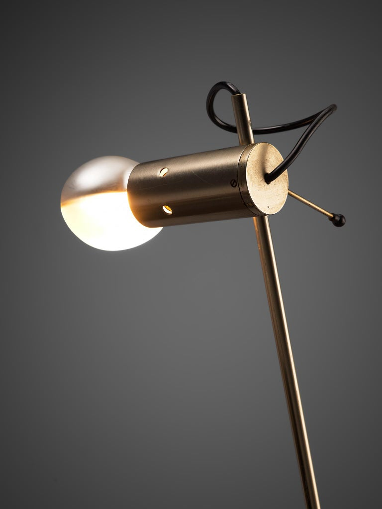Tito Agnoli for O-Luce 'Cornalux' Desk Lights In Good Condition For Sale In Waalwijk, NL