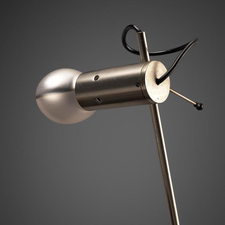 Mid-20th Century Tito Agnoli for O-Luce 'Cornalux' Desk Lights For Sale