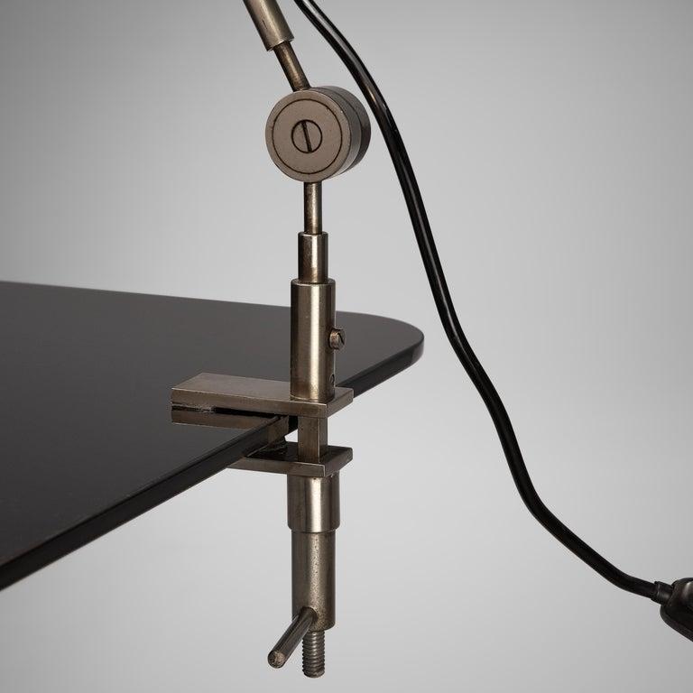 Metal Tito Agnoli for O-Luce 'Cornalux' Desk Lights For Sale