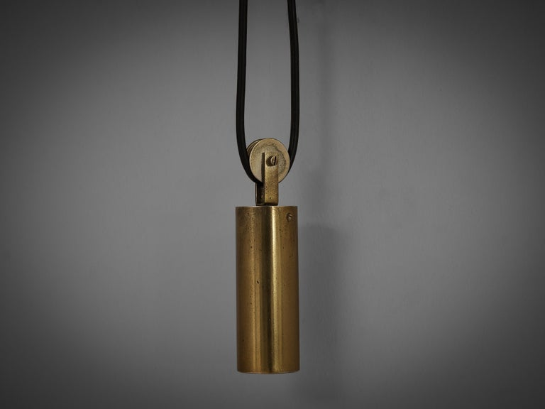 Mid-20th Century Tito Agnoli for O-Luce Pendant Wall Light For Sale