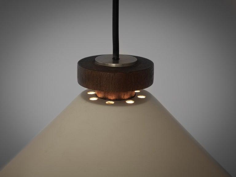 Metal Tito Agnoli for O-Luce Pendant Wall Light For Sale