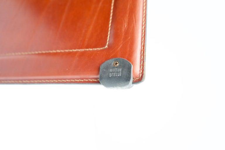 Tito Agnoli Korium Leather Chair by Matteo Grassi, Italy, 1970s For Sale 3