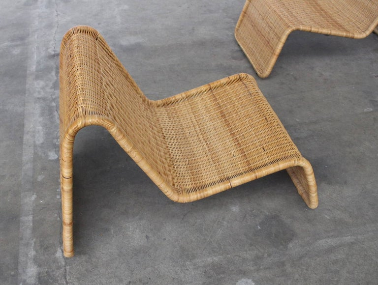Mid-Century Modern Tito Agnoli P3 Lounge Chairs for Bonacina, Italy, 1960s
