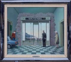 Life's Souvenirs, Surrealist Oil Painting by Tito Salomoni