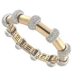 Titti Bracelet 18 Karat Pink Gold and White Diamond