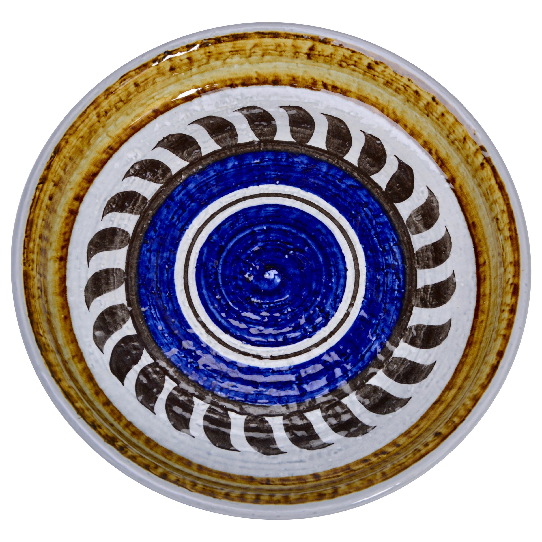 Swedish Mid-Century Modern Ceramic plate Titus by Olle Alberius for Rörstrand