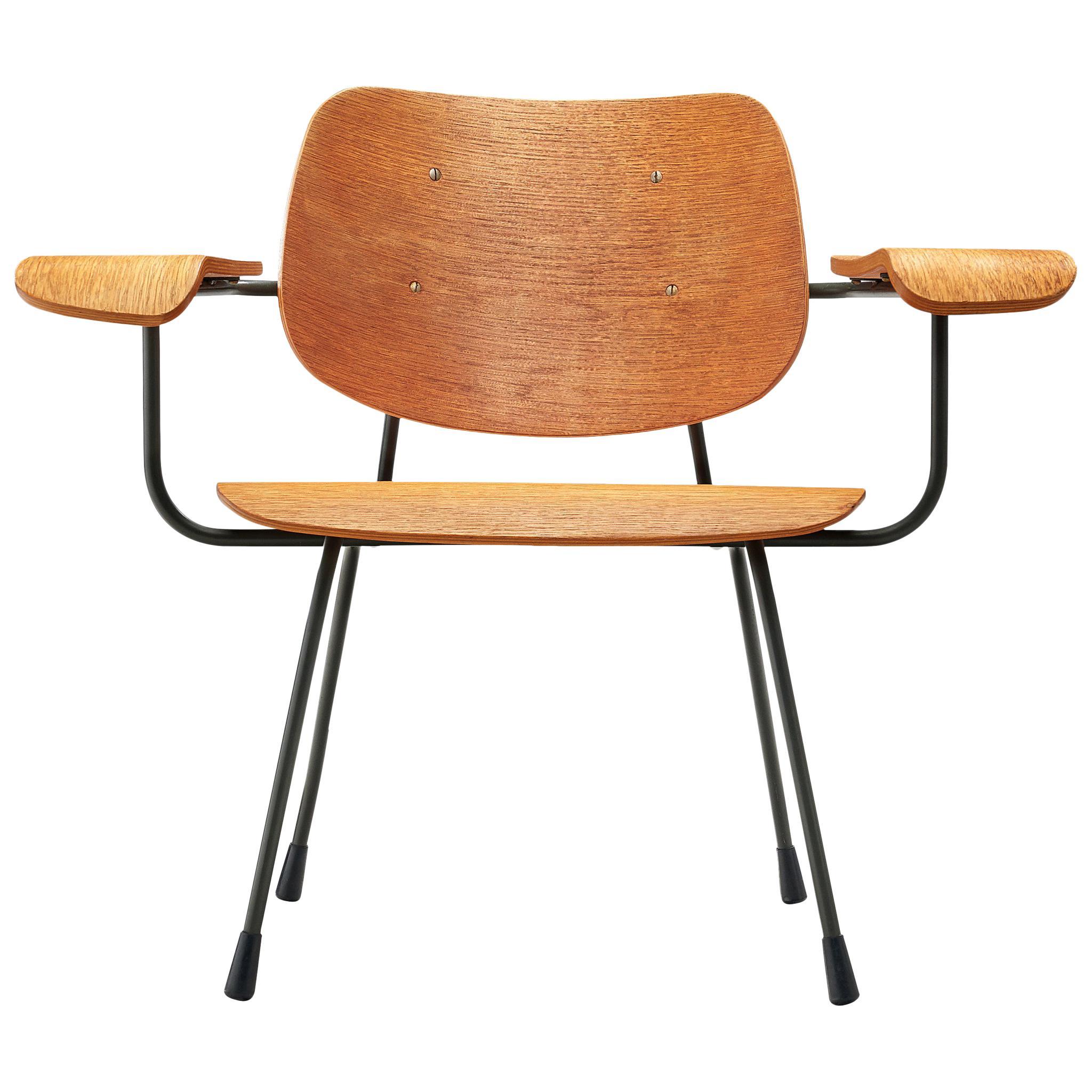 Tjerk Reijenga '8000' Easy Chair in Plywood, 1962