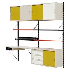 Tjerk Reijenga Double Wall Unit Pilastro Holland, 1960