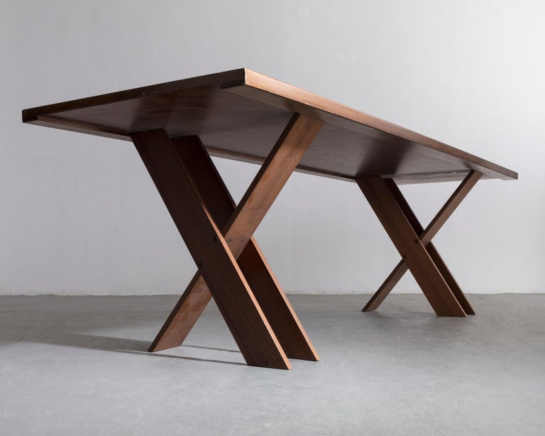Italian TL 58 Dining Table by Marco Zanuso, 1974 For Sale