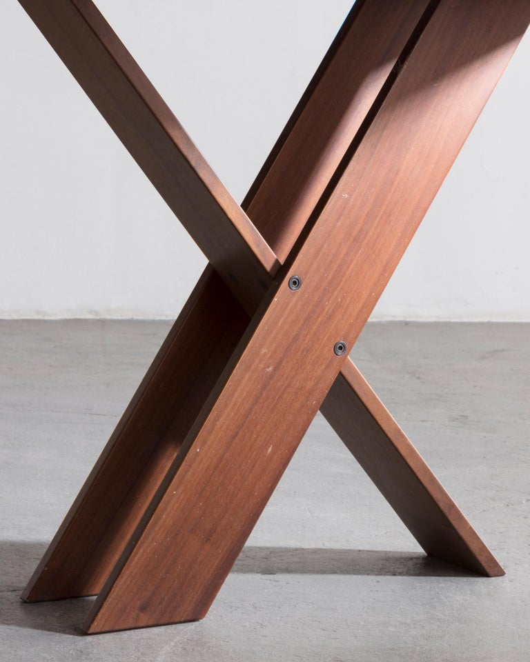 Late 20th Century TL 58 Dining Table by Marco Zanuso, 1974 For Sale