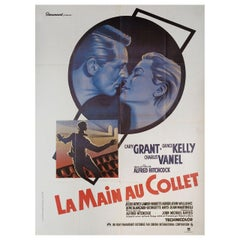 To Catch a Thief R1980s French Grande Film Poster