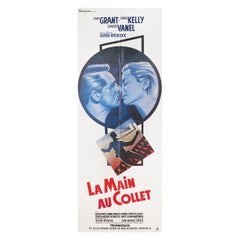 To Catch a Thief R1980s French Pantalon Film Poster