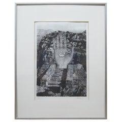 To Rene Magritte Forbidden Realm 1994 Jud Yalkut Photoprint