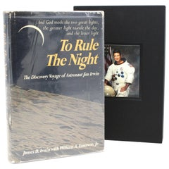 """To Rule the Night"" Signed by James Irwin, First Edition Second Printing, 1973"