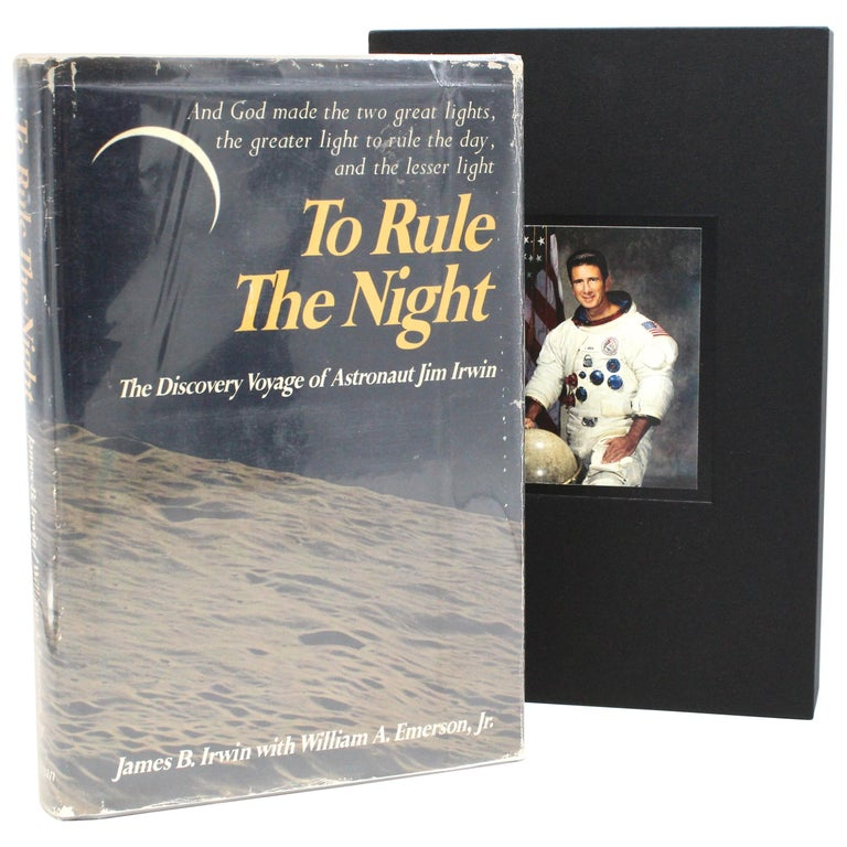 """To Rule the Night"" Signed by James Irwin, First Edition Second Printing, 1973 For Sale"