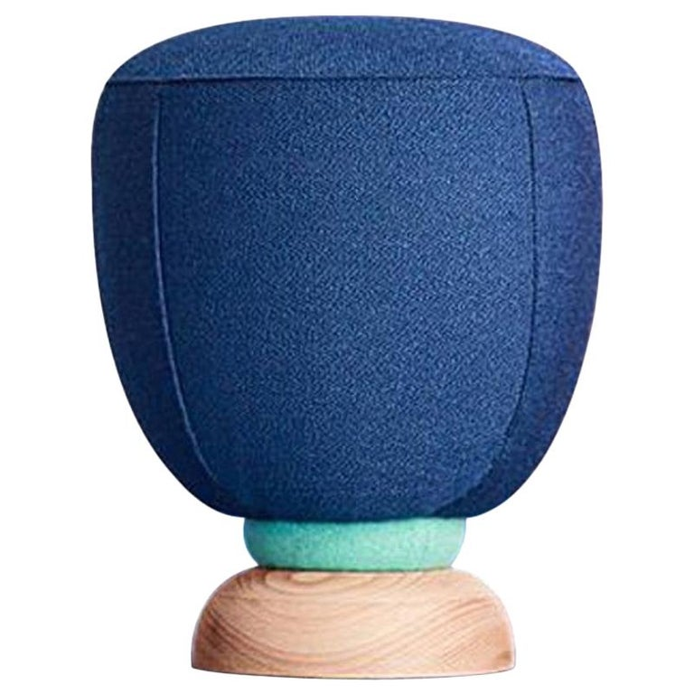 Toadstool Collection Blue Puff Masquespacio For Sale