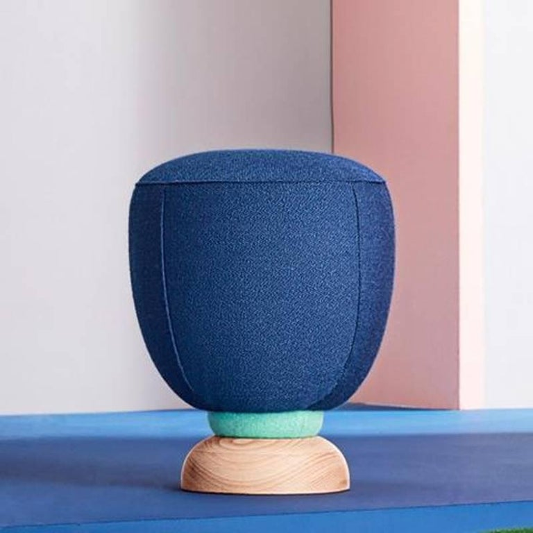 Toadstool Collection Ensemble Sofa, Table and Puffs, Masquespacio For Sale 1